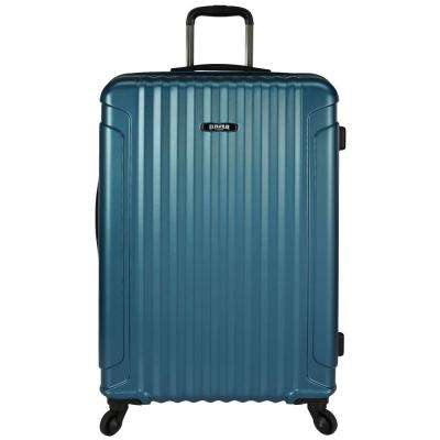 Akron 29 in. Hardside Spinner Luggage Suitcase, Teal
