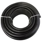 2 in. x 50 ft. PVC Schedule 40 Black Ultra Flexible Pipe