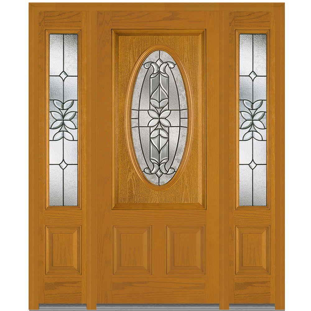 Decorative Glass Exterior Doors : Mmi door in cadence decorative glass