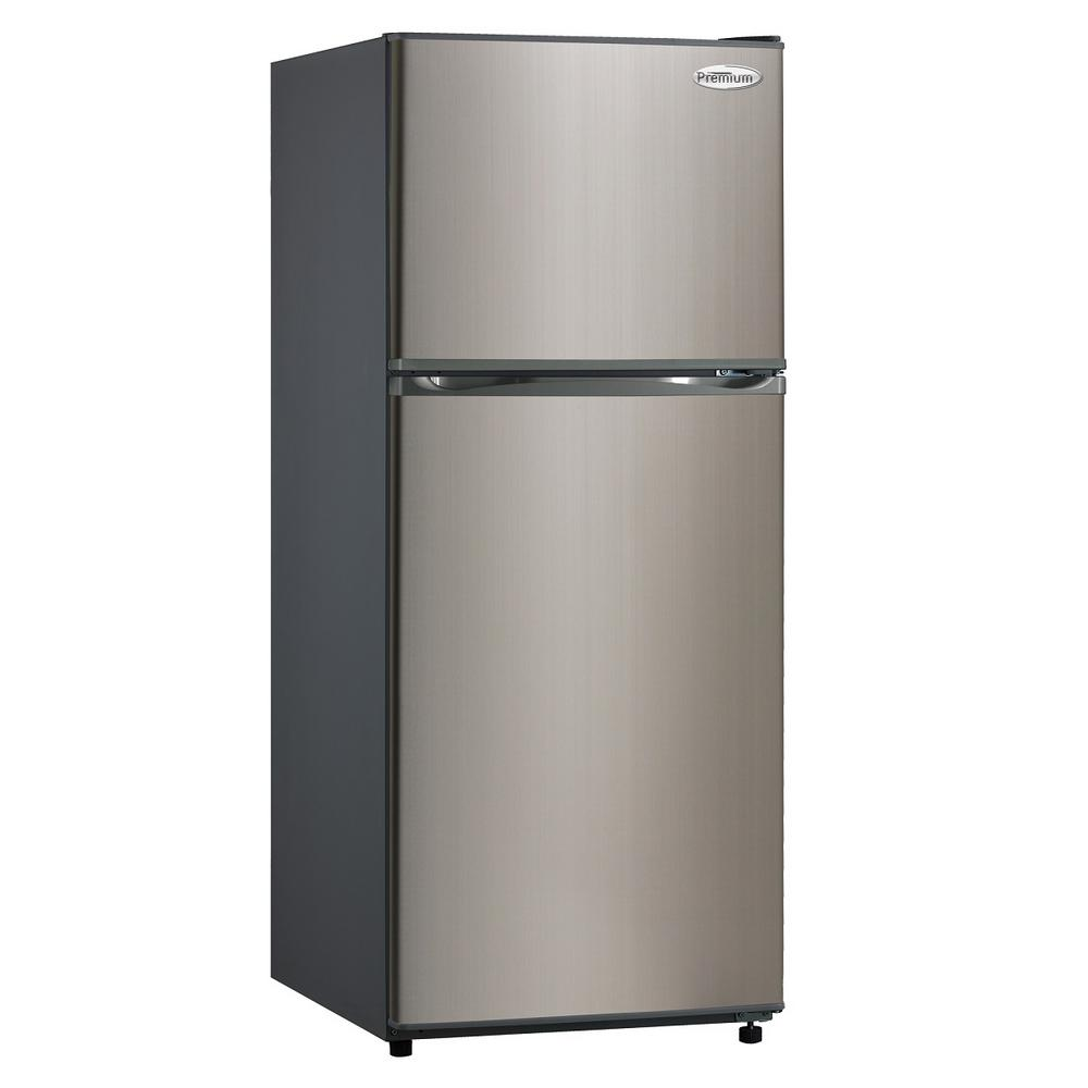 PREMIUM 9.9 cu. ft. Frost Free Top Freezer Refrigerator i...