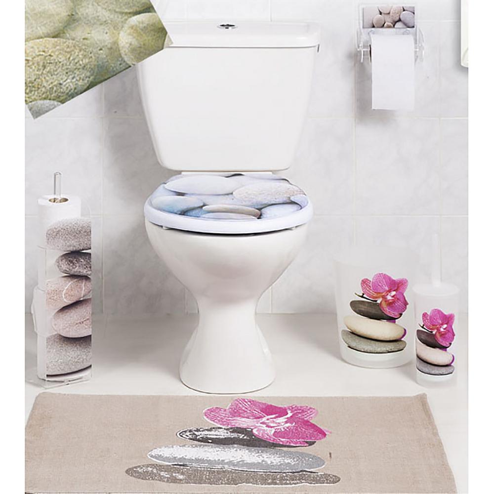 YOHOM Vacuum Suction Cup Bathroom Toilet Tissue Paper Roll Holder and Dispenser