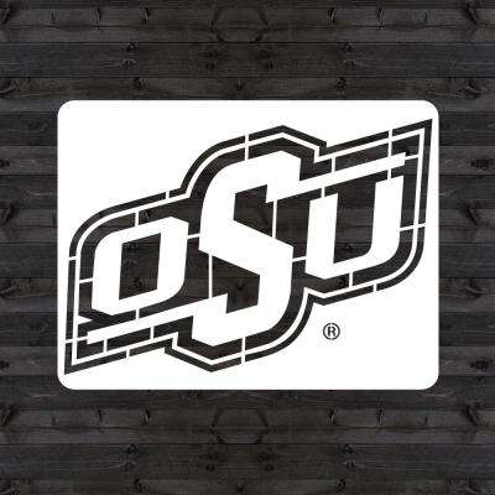 """OSU"" Mini Stencil"