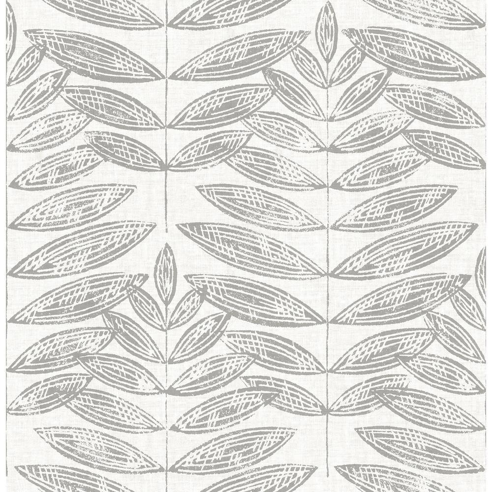 Grey Terrain Peel and Stick Wallpaper