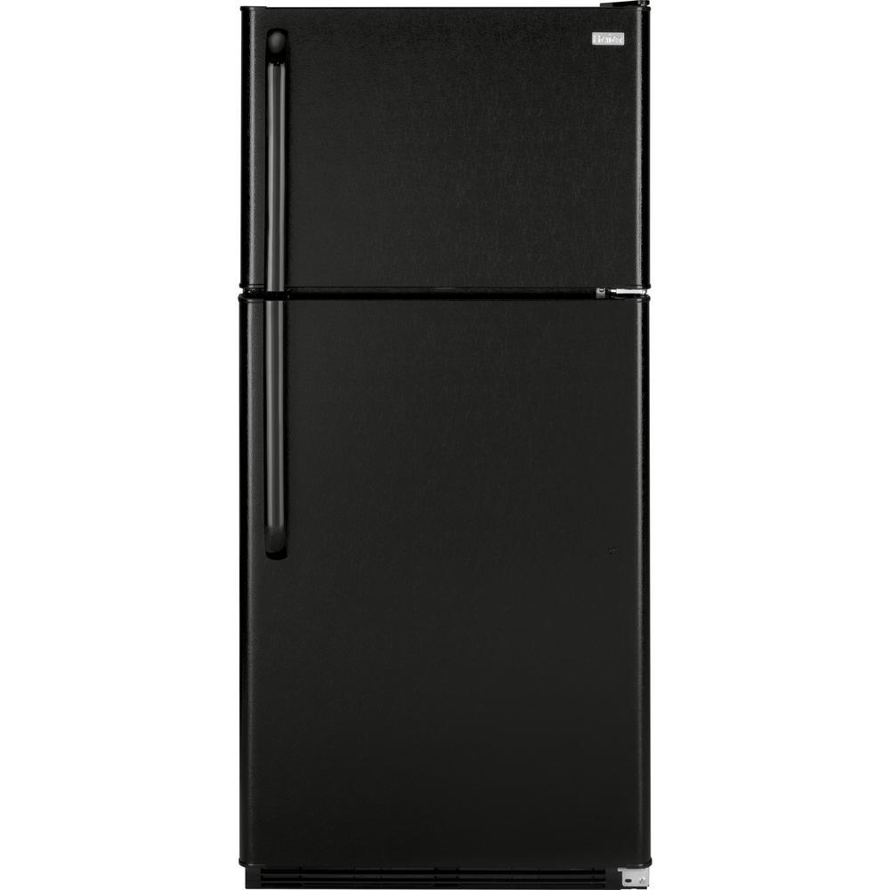 18.1 cu. ft. Top Freezer Refrigerator in Black