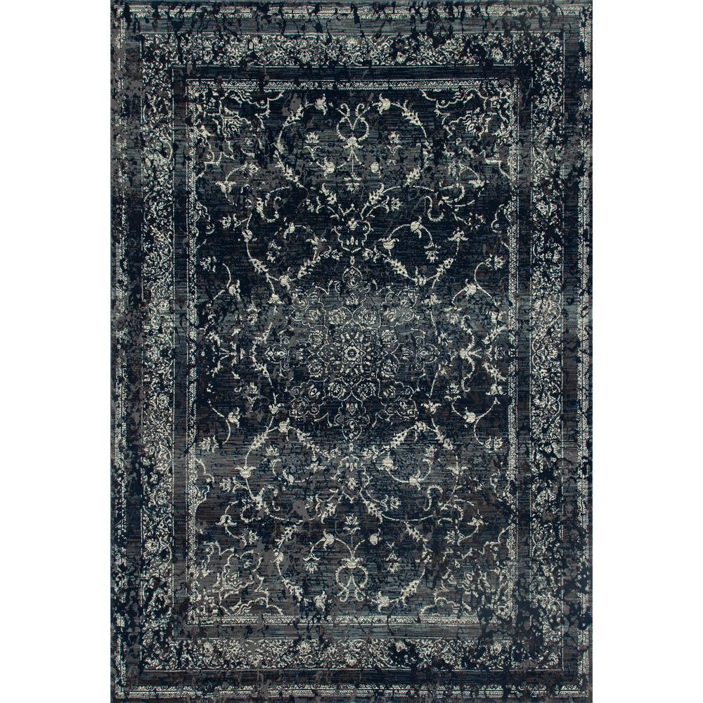 Art Carpet London Treasure Steel Blue 10 Ft X 13 Ft Area