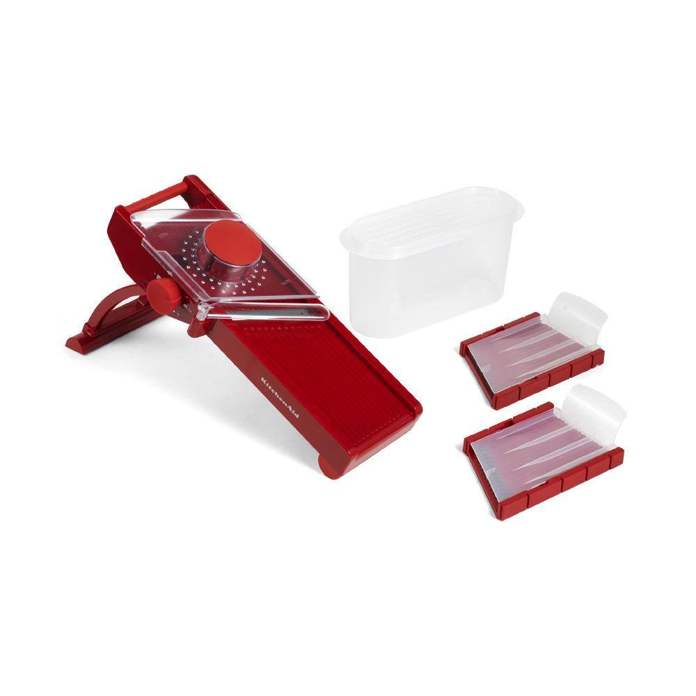 Mandoline Slicer in Red