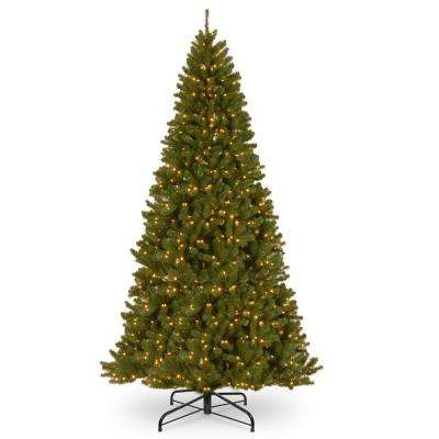 10 ft. North Valley Spruce Hinged Tree with 1200 Clear Lights