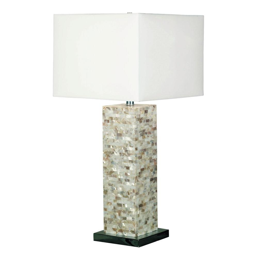 Kenroy home pearl 30 in mother of pearl table lamp 32025mop the kenroy home pearl 30 in mother of pearl table lamp aloadofball Choice Image