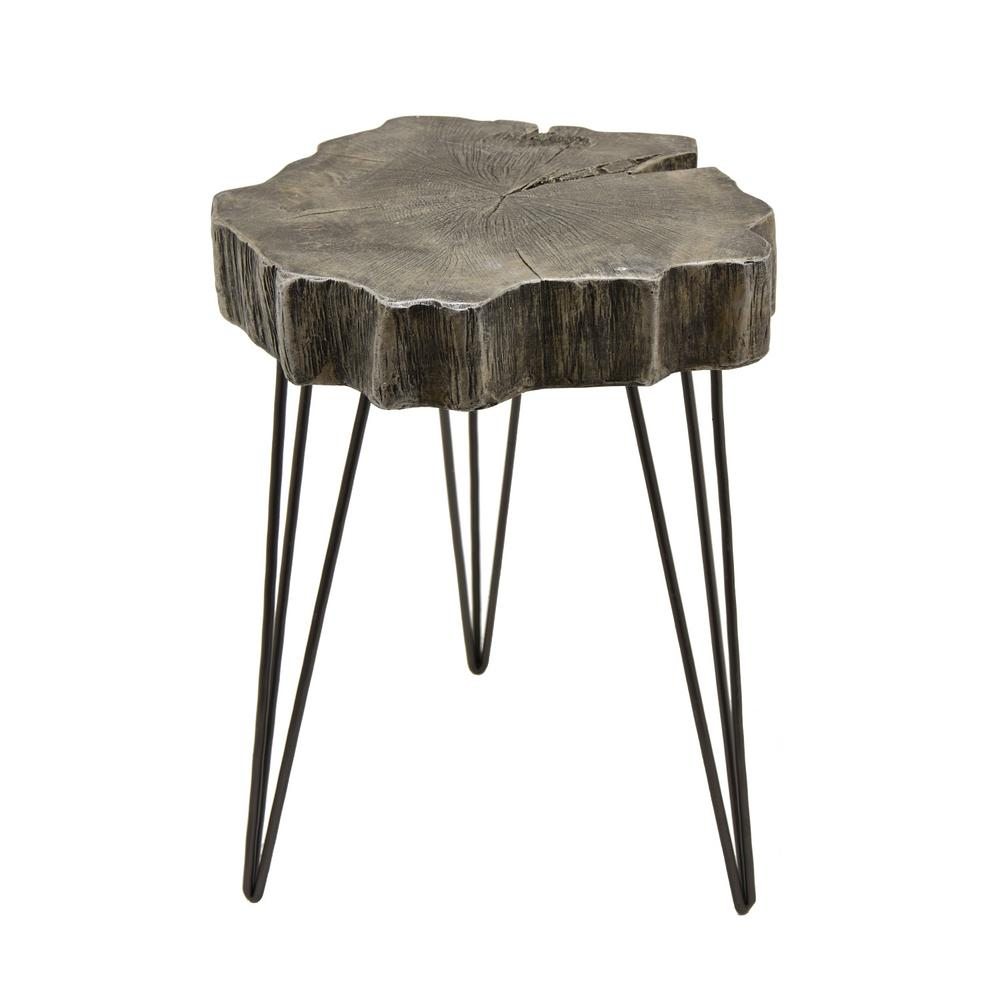 gray accent table. three hands  in gray accent table  the home depot