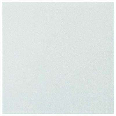 Twenties White 7-3/4 in. x 7-3/4 in. Ceramic Floor and Wall Tile
