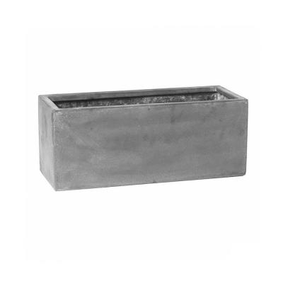 8 in. x 8 in. x 20 in. Cement Fiberstone Planter