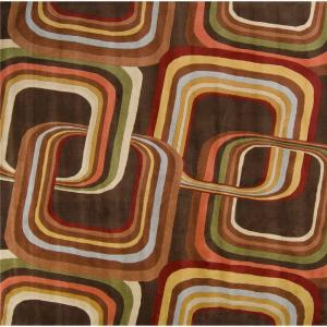 Artistic Weavers Michael Brown 9 ft. 9 inch Square Area Rug by Artistic Weavers