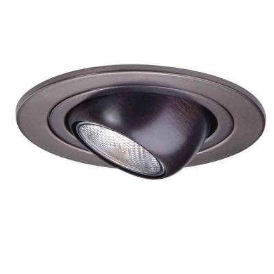 4 in. Tuscan Bronze Recessed Ceiling Light Adjustable Eyeball Trim