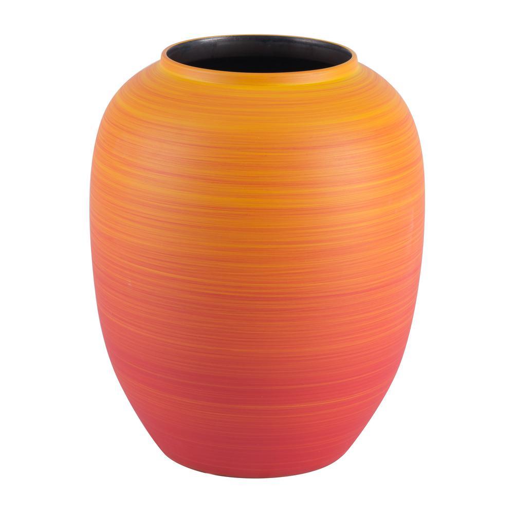 Orange Tanger Decorative Vase