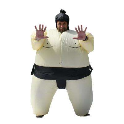 1-Size Fits All Unisex Sumo Wrestler Adult Halloween Costume