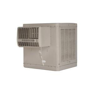 cfm 2speed front discharge window evaporative cooler for sq ft