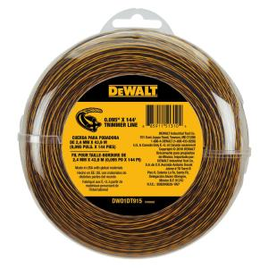 Dewalt 0.095 inch x 144 ft. Replacement Line for Cordless Battery Operated Bump... by DEWALT
