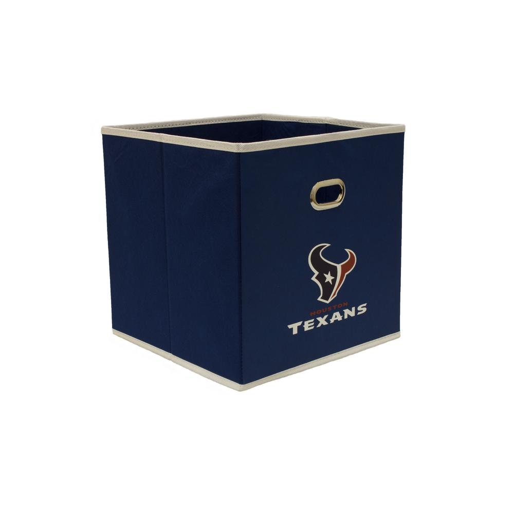 Myownersbox houston texans nfl store its 10 1 2 in w x 10 for Navy bathroom bin