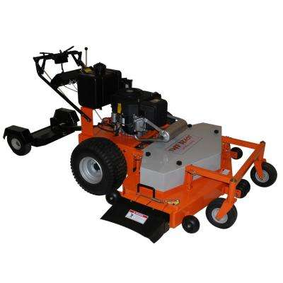 54 in. 22 HP Electric Subaru Commercial Duty Dual-Hydro Finish Cut Commercial Walk Behind Mower with Floating Deck
