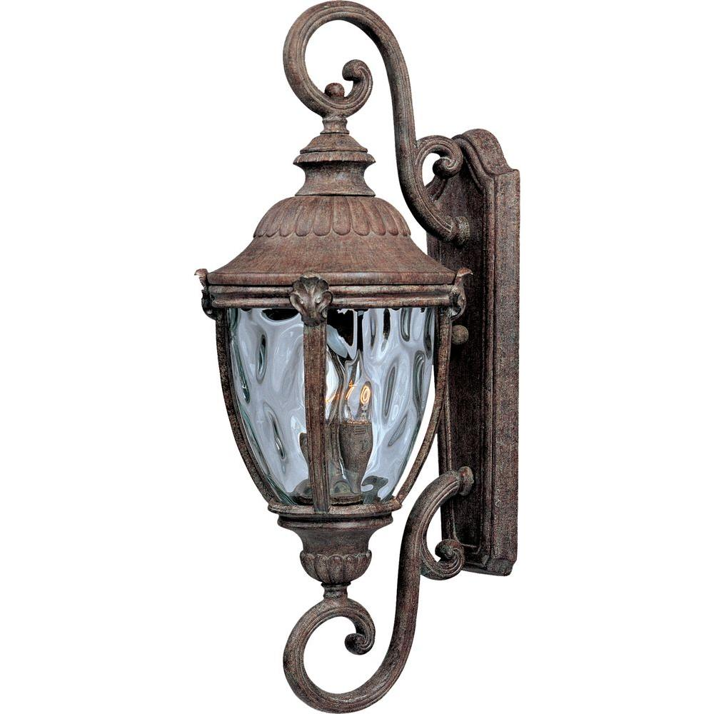 Morrow Bay Vivex 3-Light Earth Tone Outdoor Wall Mount