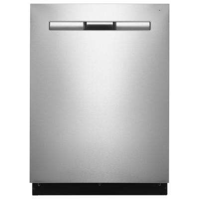 Top Control Built-In Tall Tub Dishwasher in Fingerprint Resistant Stainless Steel