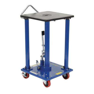 500 lb. Capacity 18 in. x 18 in. Hydraulic Post Table