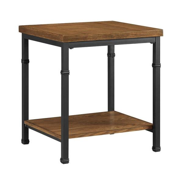 Home Decor Austin: Linon Home Decor Austin Black Ash End Table 862254ASH01U