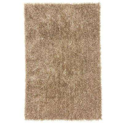 Shine Taupe 2 ft. x 3 ft. Solid Area Rug