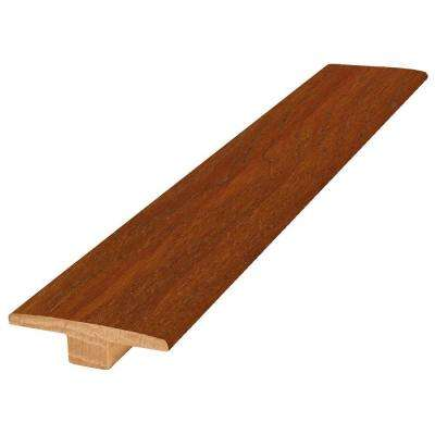 Hickory Winchester 9/16 in. Thick x 2 in. Wide x 84 in. Length Hardwood T-Molding