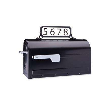 Manhattan Address Plaque Black