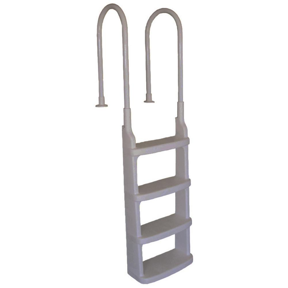 Easy Incline In-Pool Ladder with Mounting Flanges for 48 in. to