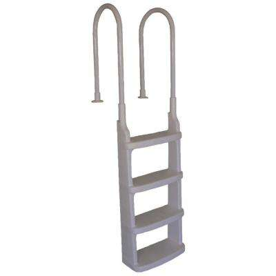 Easy Incline In-Pool Ladder with Mounting Flanges for 48 in. to 54 in. Pools
