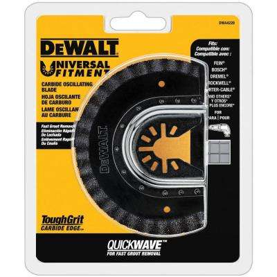 Oscillating Fast Cut Carbide Grout Removal Blade