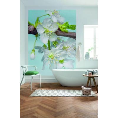 196 in. H x 36 in. W Blossom Wall Mural
