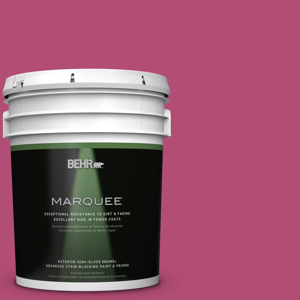 BEHR MARQUEE 5-gal. #P120-6 Diva Glam Semi-Gloss Enamel Exterior Paint