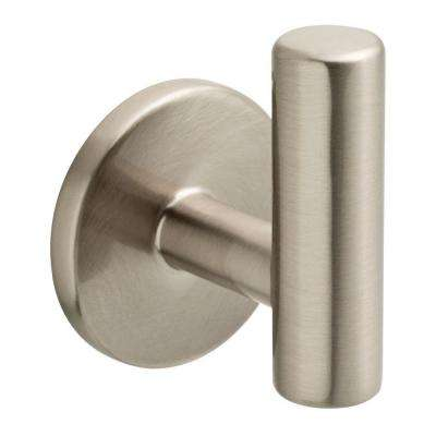 2-1/32 in. Satin Nickel Post Hook
