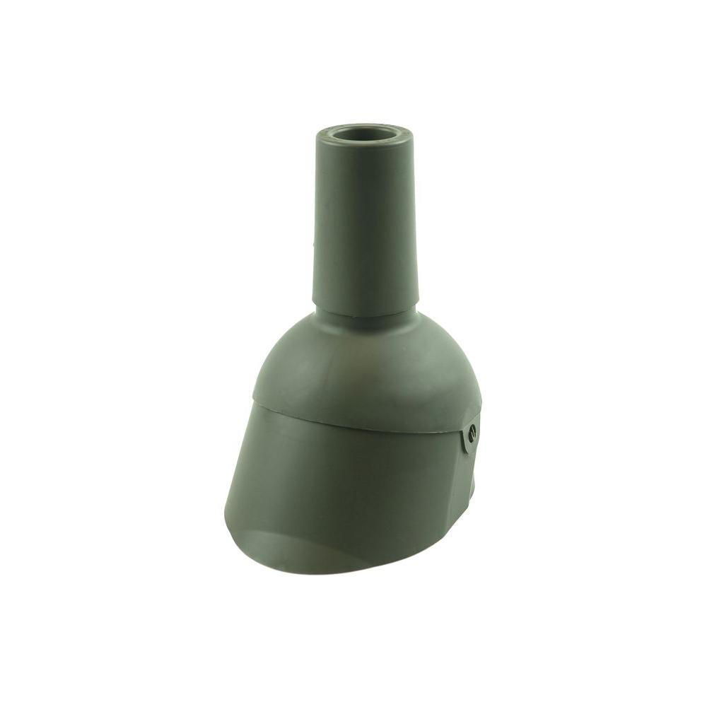 Perma-Boot Pipe Boot Repair for 2 in. I.D. Vent Pipe Weatherwood Color