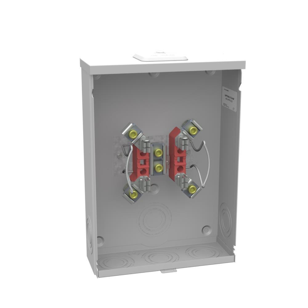 200 Amp 4-Terminal Ringless Overhead/Underground Meter Socket