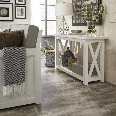 Home Styles Cottage Console Table Entryway Furniture - Cottage style console table