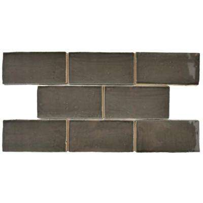 Chester Grafito 3 in. x 6 in. Ceramic Wall Tile (1 sq. ft. / pack)