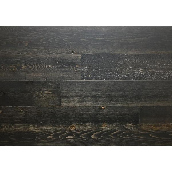 Timberchic Black Ice 5 in. Peel and Stick Wall Applique Panels (20 sq. ft./Box)