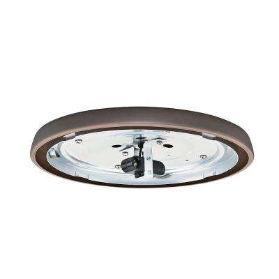 Brushed Cocoa Bronze Incandescent Low Profile Light Fitter