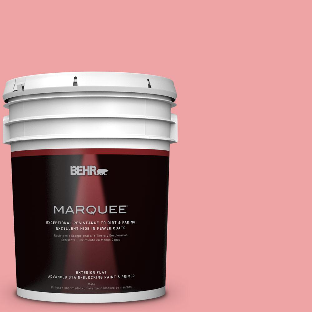 BEHR MARQUEE 5-gal. #P170-3 Infatuation Flat Exterior Paint