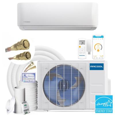 DIY 3rd Gen 18,000 BTU 20-Seer Energy Star Ductless Mini-Split A/C and Heat Pump with 16 ft. Install Kit 230V