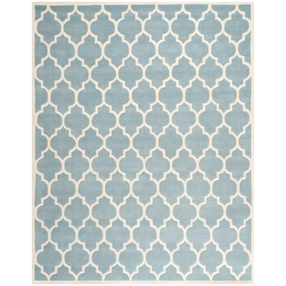 Chatham Blue/Ivory 10 ft. x 14 ft. Area Rug