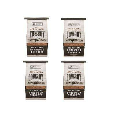 14 lbs. All Natural Range Hardwood Charcoal Briquets for Grilling (4-Pack)