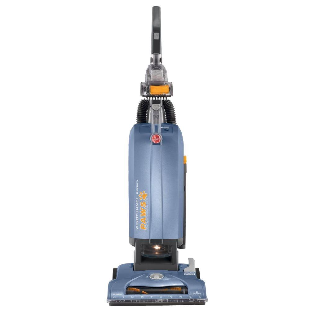 Hoover Windtunnel T Series Pet Bagged Upright Vacuum Cleaner Uh30310 The Home Depot