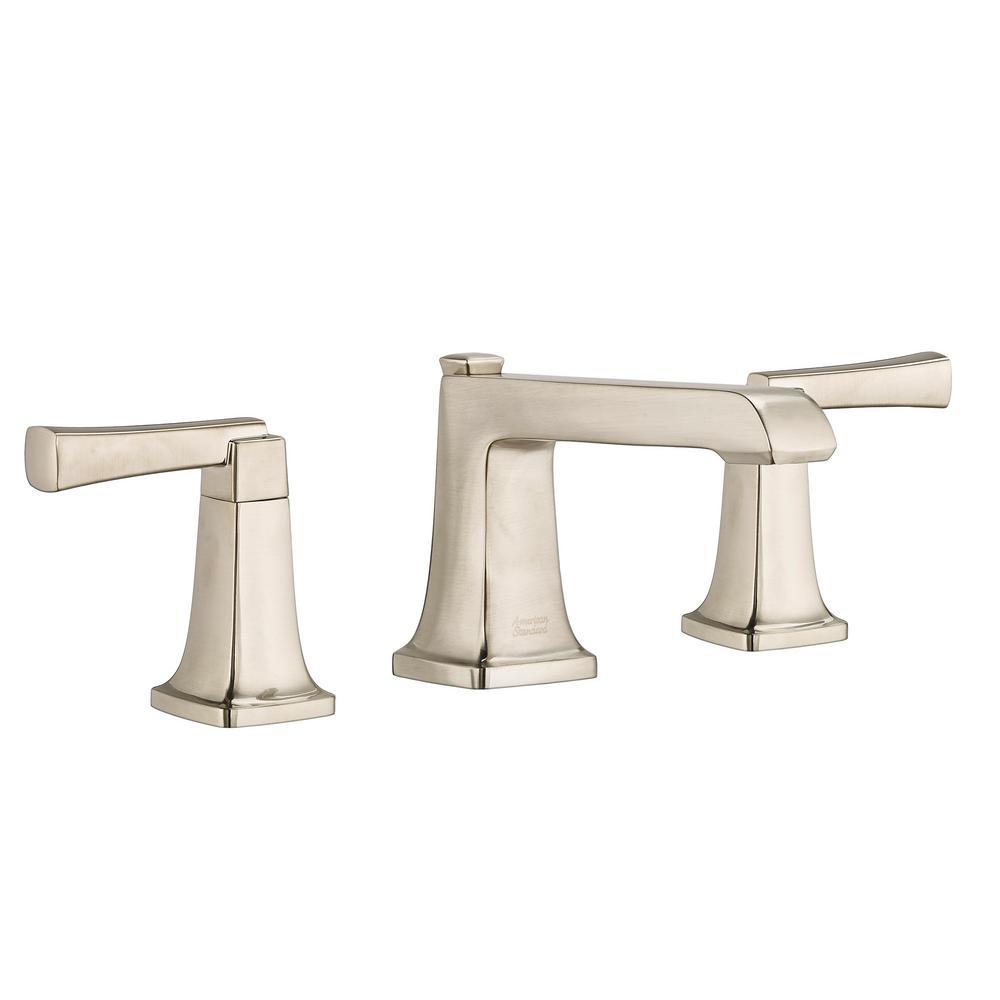 Townsend 8 in. Widespread 2-Handle Bathroom Faucet in Brushed Nickel