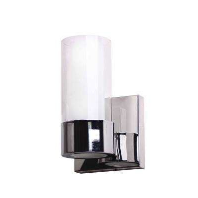 Martigny 1-Light Chrome Bath Light