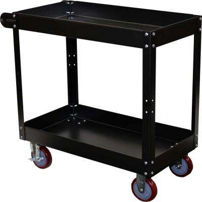 Economy 2-Tier Steel Service Cart
